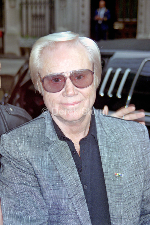 "George Jones appears on ""Good Morning America"", NYC"