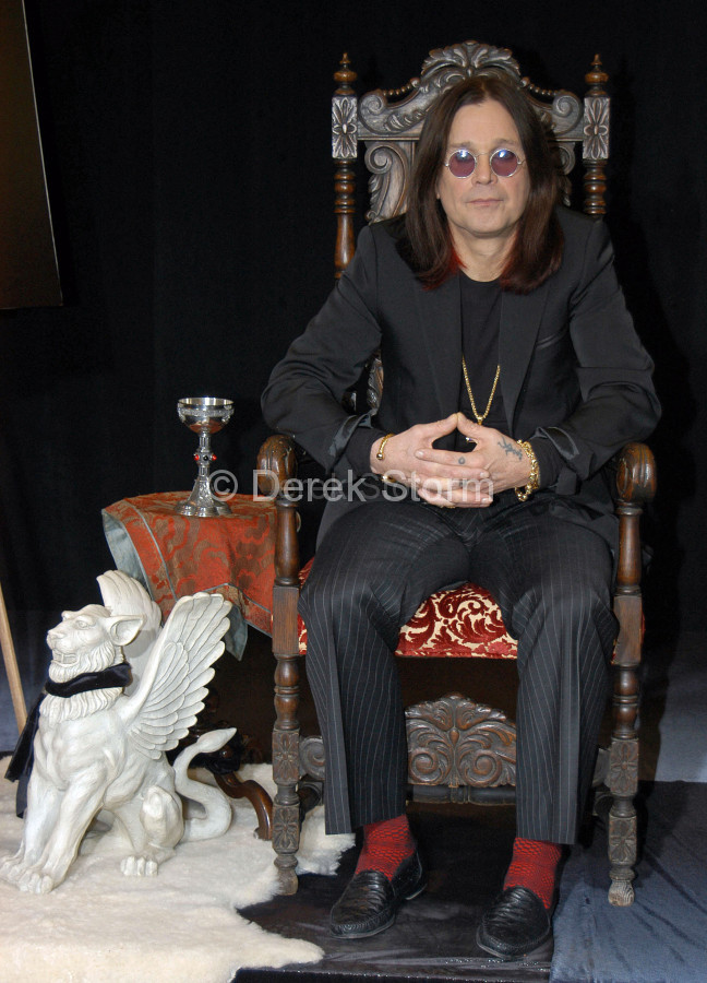 Ozzy Osbourne at Tower Records