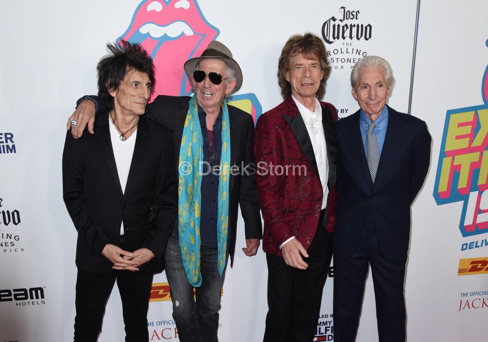 Ronnie Wood, Keith Richards, Mick Jagger, Charlie Watts