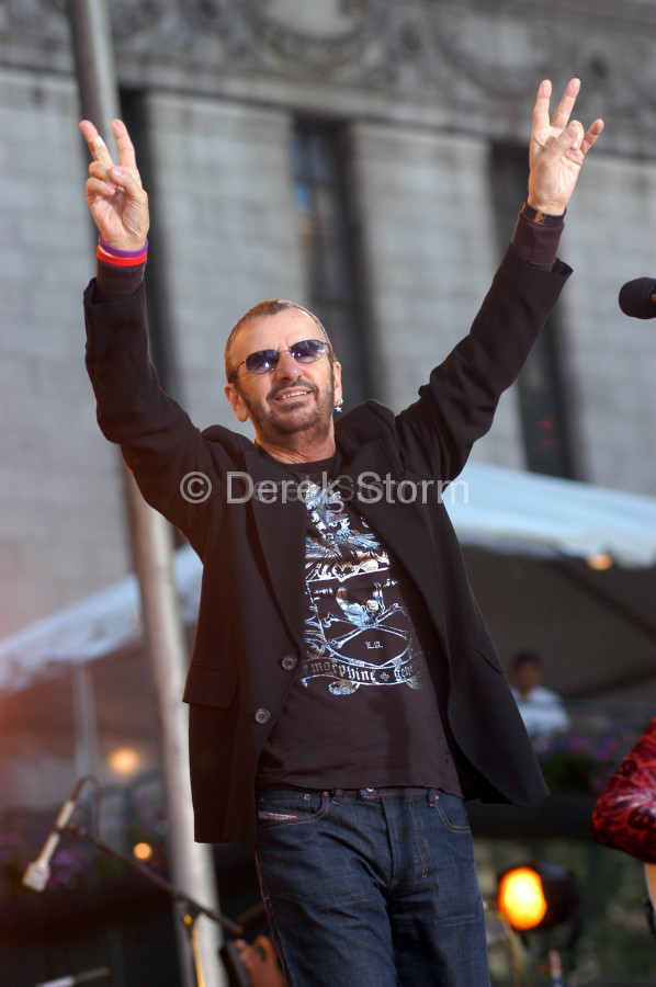 Ringo Starr & the Roundheads perform on Good Morning America